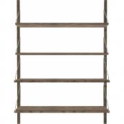 Frama - Shelf Library Regal Dunkel H 114,8 cm / Einzelsektion