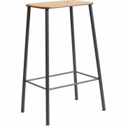 Frama - Adam Stool Oak Grey | 65 cm