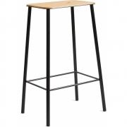Frama - Adam Stool Oak Black   65 cm