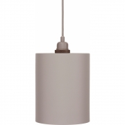 Frama - Cylinder Shade Pendelleuchte, grau