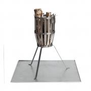Röshults - Platta Platte für Feuerkorb