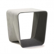Eternit - Ecal Hocker Grau