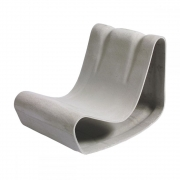 Eternit - Outdoor Fauteuil Loop de Willy Guhl