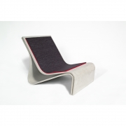 Eternit - Sponeck Chair Cushion Red / Anthracite