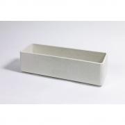 Eternit - Delta Plant Pot rectangular 80 x 25 x 25 cm | Grey
