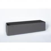 Eternit - Delta Plant Pot rectangular 100 x 30 x 35 cm | Anthracite