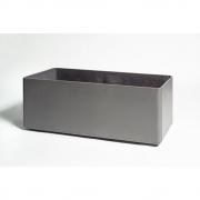 Eternit - Delta Plant Pot rectangular 120 x 45 x 45 cm | Anthracite