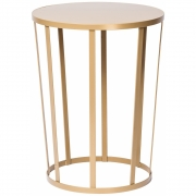 Petite Friture - Hollo Side Table / Stool Gold