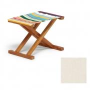 Weishäupl - Cabin Deck Chair Stool Acryl - Natural