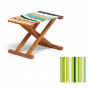 Weishäupl - Cabin Deck Chair Stool Acryl - Spring