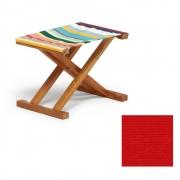 Weishäupl - Cabin Deck Chair Stool Acryl - Red