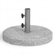 Weishäupl - Bodenplatte Granit geflammt, rund
