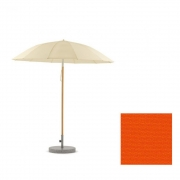 Weishäupl - Pagoda Umbrella Ø 240 cm | Wood White | Acryl - Orange