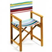 Weishäupl - Sitzpolster für Cabin Regiestuhl, Acryltuch Multicolor