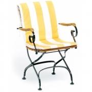 Weishäupl - Sitz-Rückenpolster für Classic Stuhl/Sessel, Acryltuch Tanne