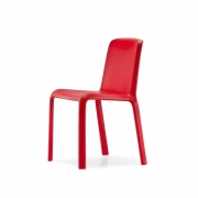Pedrali - Snow 300 chaise Rouge
