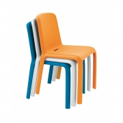 Pedrali - Snow 300 Chair Orange