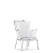 Pedrali - Pasha 660 Cadeira Transparente
