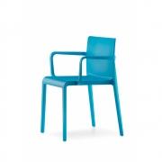 Pedrali - Volt 675 Cadeira com braços Azul