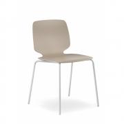 Pedrali - Babila 2730 Chair White | Chrome