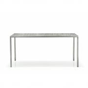 Pedrali - Fabbrico TFA Tisch 160x80 cm | Transparent