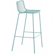 Pedrali - Nolita 3657 Barstool Light Blue