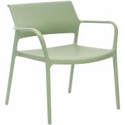 Pedrali - Ara 316 Cadeira de lounge Branco