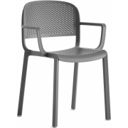Pedrali - Dome 266 Armchair perforated