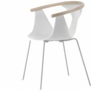 Pedrali - Fox 3726 chaise Blanc