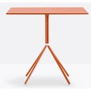Table 70x70 cm Nolita 5454 - Pedrali Blanc