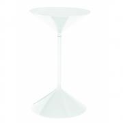 Zanotta - Tempo Side Table 50 cm | White