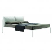 Zanotta - Nyx Bett mit gepolstertem Kopfteil