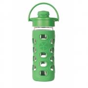 Lifefactory - Glas-Trinkflasche mit Flip-Top Cap