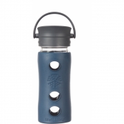 Lifefactory - Cafe Collection Glas-Trinkflasche 350 ml   Marine