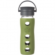 Lifefactory - Cafe Collection Glas-Trinkflasche 475 ml   Sage