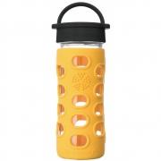 Lifefactory - Glas-Trinkflasche 350 ml Marigold