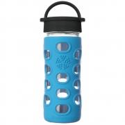 Lifefactory - Glas-Trinkflasche 350 ml Cobalt Blue