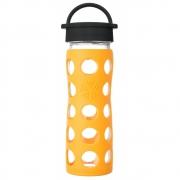 Lifefactory - Glas-Trinkflasche 475 ml Marigold
