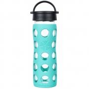 Lifefactory - Glas-Trinkflasche 475 ml Sea Green