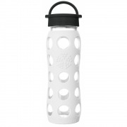 Lifefactory - Glass Drinking Bottle 650 ml Arctic White
