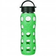 Lifefactory - Glas-Trinkflasche 650 ml Moss