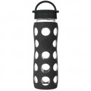 Lifefactory - Glas-Trinkflasche 650 ml Onyx