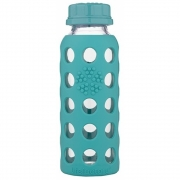 Lifefactory - Glass Kids Bottle 250 ml Kale