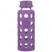 Lifefactory - Glas Kinderflasche 250 ml Grape