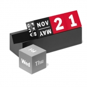 MoMA - Ewiger Kalender Würfel