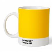 Pantone - Porzellan Becher Yellow 012