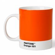 Pantone - Porzellan Becher Orange 021