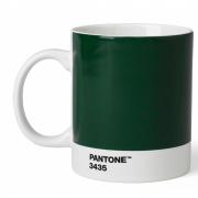 Pantone - Porzellan Becher Dark Green 3435