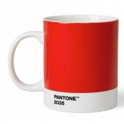 Pantone - Porzellan Becher Red 2035