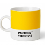 Pantone - Porzellan Espressotasse Yellow 012